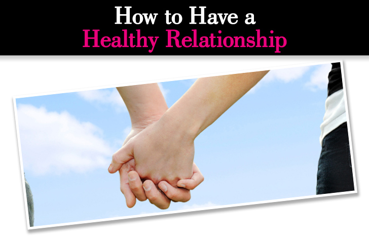 how to have a good relationship