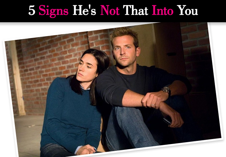 signs that a girl is not into you
