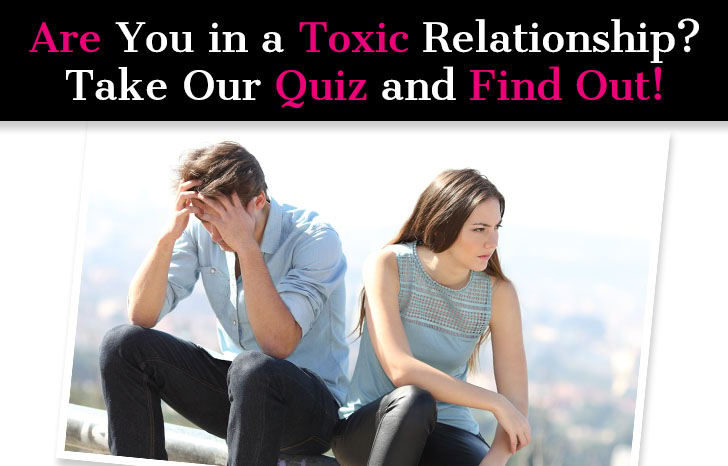 Am i the toxic one in the relationship