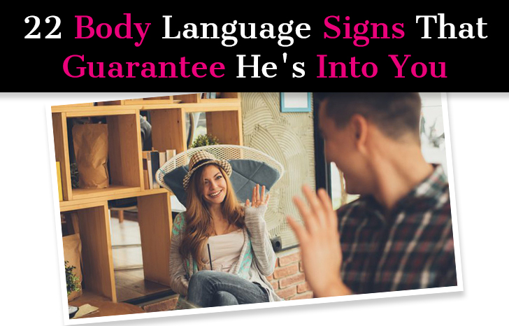 Signs he likes you dating