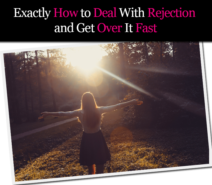 How to deal with online dating rejection